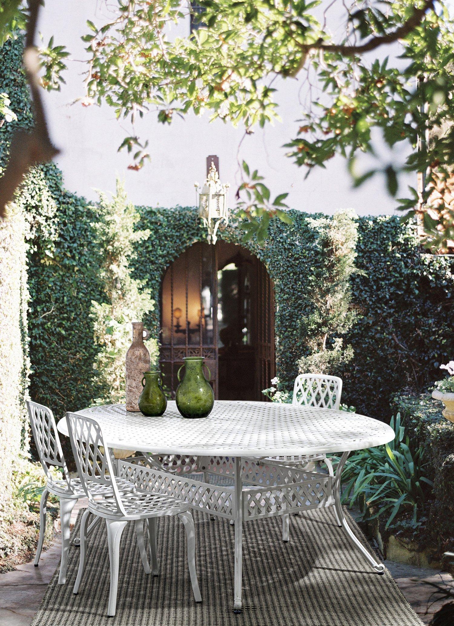 Set per giardino Bizzotto - Sedie Faenza - Tavolo Ivrea